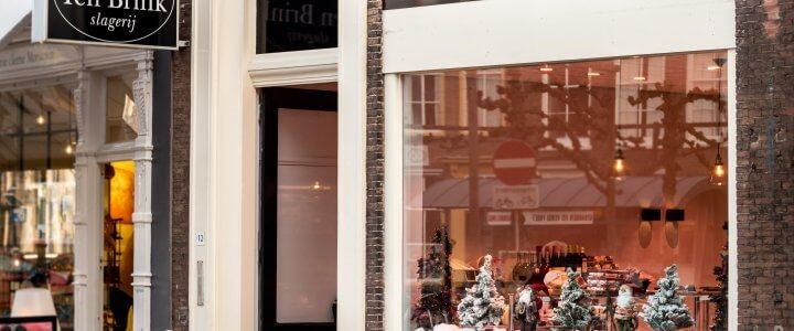 Nieuwe winkel Slagerij Ten Brink, Middelburg